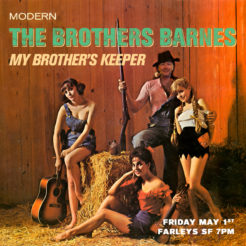 Come and join the Brothers for an urban hootenanny! Every Thursday night at Farley's I introduce a song writer friend. We usually play two sets between 6pm and 10pm with warm-ups in between. Come on down and join us!